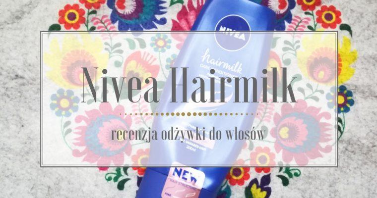 Nivea hairmilk odżywka do włosów cienkich