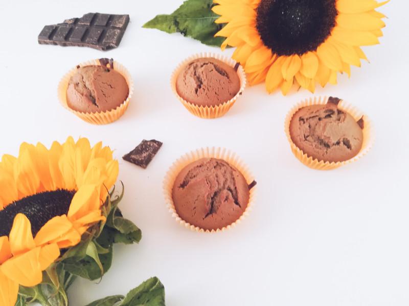 Przepis na czekoladowe muffinki w 30 min