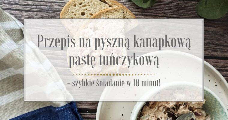 Przepis na pyszną kanapkową pastę tuńczykową – szybkie śniadanie w 10 minut!